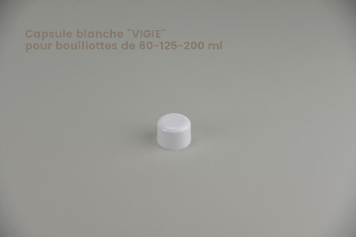 Fermetures pour bouillottes en polyéthylène et en PET (24/410)